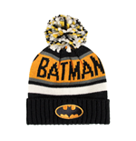 Batman bonnet Knitted Logo