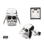 Star Wars boucles d´oreille argent Darth Vader