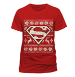 T-shirt Superman - Fair Isle Logo