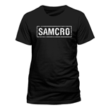 T-shirt Sons Of Anarchy - Samcro Banner