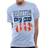 T-shirt Led Zeppelin - Us 75