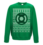 Sweat-shirt Green Lantern - Fair Isle Logo