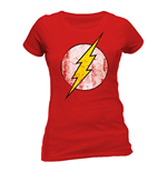 T-shirt The Flash - Logo Délavé