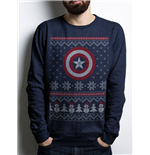 Sweat-shirt Captain America - Ca Fair Isle Crew