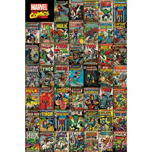 Poster Marvel Comics