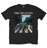 T-shirt The Beatles - Abbey Road With Logo