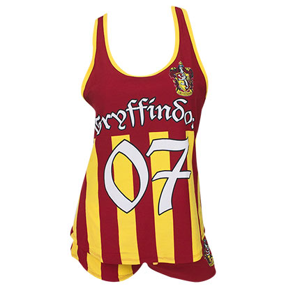 Ensemble de Nuit Harry Potter - Gryffondor Quidditch Seeker Varsity