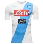 Maillot de Football SSC Naples Kappa Authetic Away 2016-2017