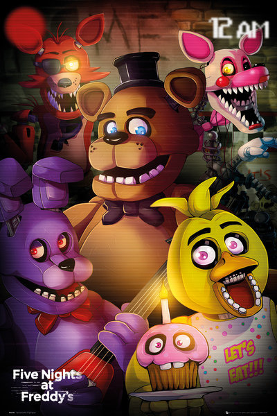 Poster Five Nights At Freddy's Group