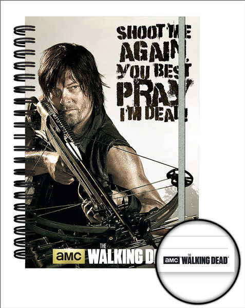 Cahier The Walking Dead - Crossbow
