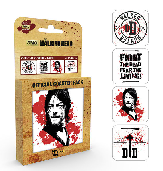 Sous-verres The Walking Dead - Daryl