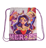 DC Super Heroes Girls sac en toile Characters