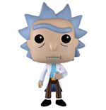 Rick et Morty Figurine POP! Animation Vinyl Rick 9 cm
