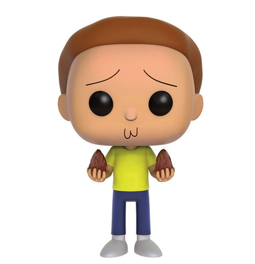 Rick et Morty Figurine POP! Animation Vinyl Morty 9 cm