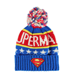 Superman bonnet Knitted Logo