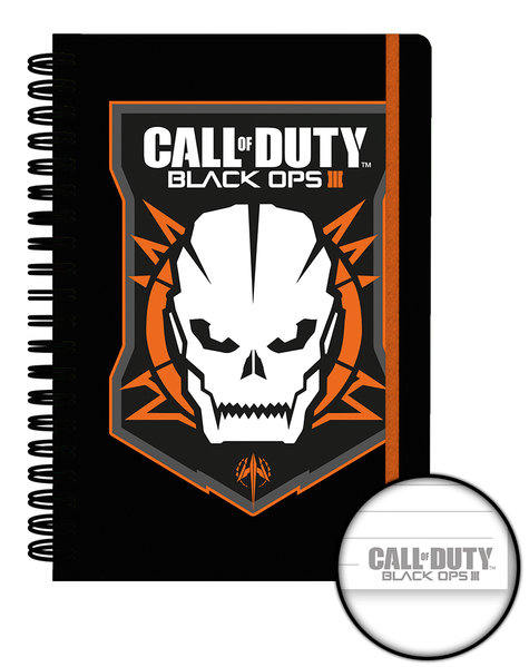 Cahier Call Of Duty: Black Ops 3 - Logo