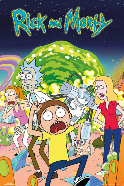 Poster Rick and Morty - Group