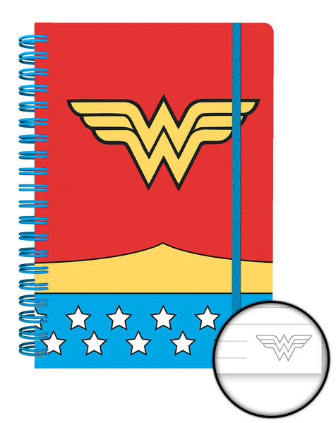 Cahier DC Comics - Costume Wonder Woman A5