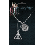 Harry Potter pendentif Dog Tag Crest & Hallows