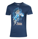 T-shirt The Legend of Zelda: Breath of the Wild - Link with arrow