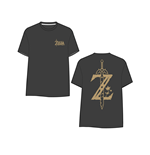 T-shirt The Legend of Zelda: Breath of the Wild - Golden Game Logo