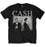 T-shirt Johnny Cash pour homme - Design: Mug Shot