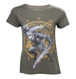 T-shirt Nintendo The Legend of Zelda Link at the Gate of Time, Taille L