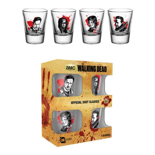 Verres à Shot The Walking Dead