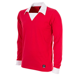 Maillot de Football George Best Rétro Manches Longues Manchester United FC 1970
