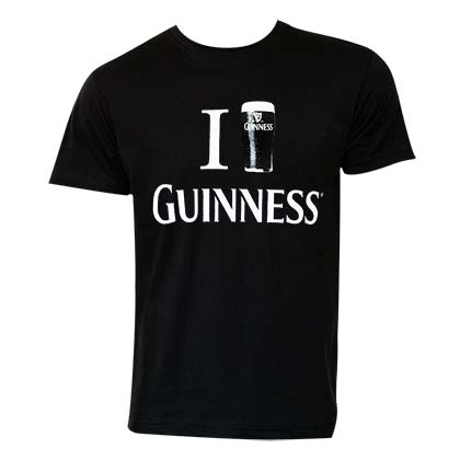 T-shirt Guinness - Love
