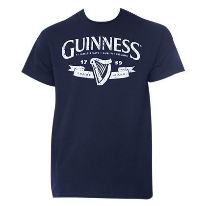 T-shirt Guinness Distressed