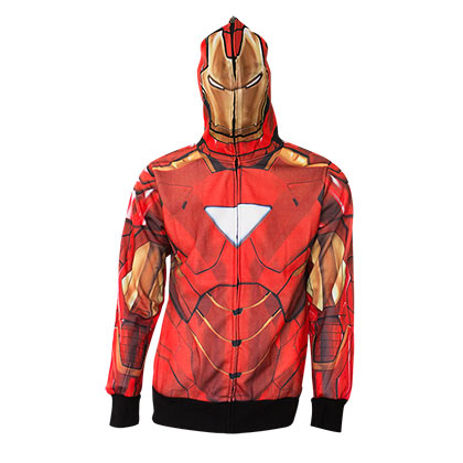 Sweat à Capuche Costume Iron Man