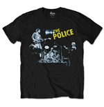 T-shirt The Police: Live