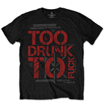 T-shirt Dead Kennedys: Too Drunk