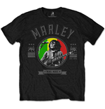 T-shirt Bob Marley: Rebel Music Seal