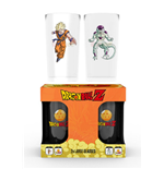 Verres Dragon ball Z - Goku Vs Freezer Large