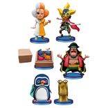 One Piece assortiment figurines WCF ChiBi 7 cm Requested Selection (10)