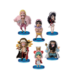 One Piece assortiment figurines WCF ChiBi 7 cm Donquixote's Family (10)
