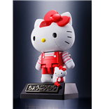 Hello Kitty Chogokin figurine Diecast Red Stripe Ver. 10 cm