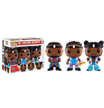 WWE Wrestling pack 3 POP! WWE Vinyl figurines Big E, Xavier Woods & Kofi Kingston 9 cm
