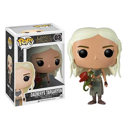 Figurine Funko Pop Le Trône de fer (Game of Thrones) - Daenerys Targaryen