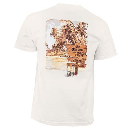 T-shirt Corona Extra Find Your Beach