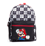Sac à Dos Nintendo Super Mario Bros. Mario Jumping with All-over Tiled Characters