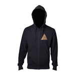 Veste à Capuche Nintendo The Legend of Zelda Logo Golden Triforce, Taille M