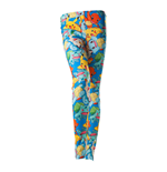 Leggings Pokémon All-Over Fighting Pokemon Characters, Taille XL