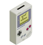 Nintendo Game Boy tirelire Super Mario Land 2