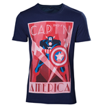 T-shirt Captain América  252161