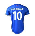 Maillot de Football Islande Home 2016-2017 (G.Sigurdsson 10)