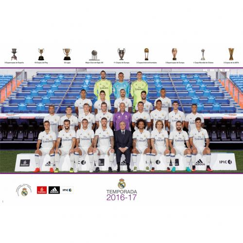 Poster Real Madrid - Squad 38