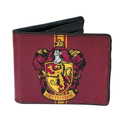 Portefeuille Double Volet Harry Potter - Gryffondor